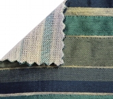Knit Backing on fabric